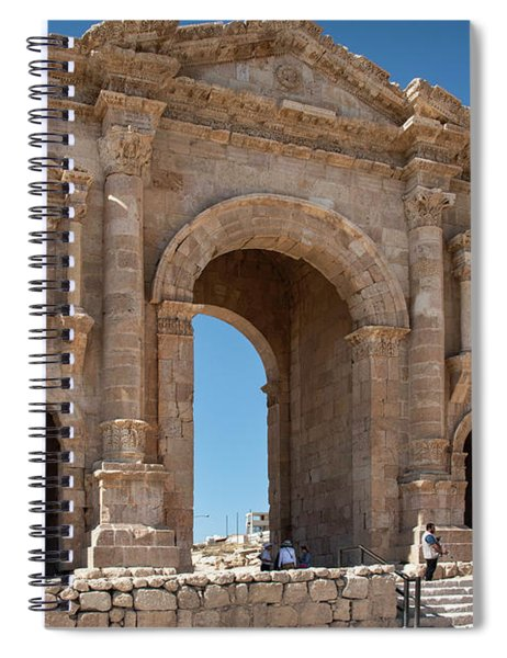 Roman Arched Entry Spiral Notebook by Mae Wertz