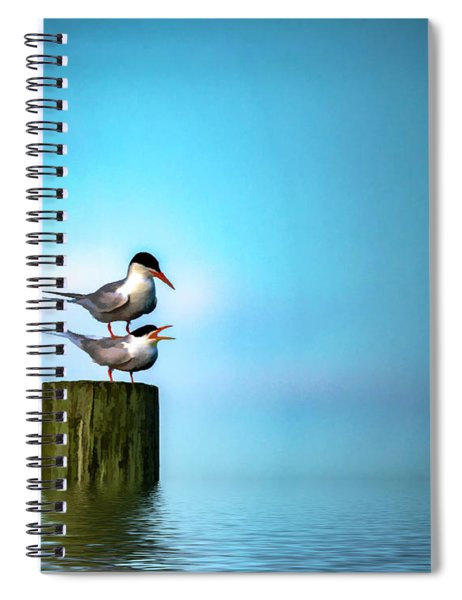Romance On The High Seas Spiral Notebook