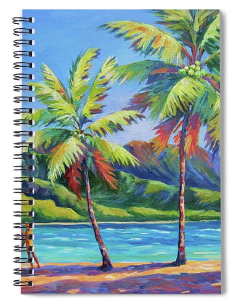 Romantic Hanalei Bay Spiral Notebook