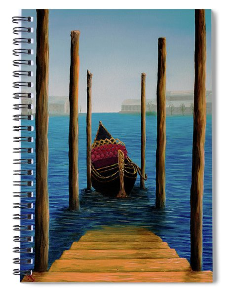 Romantic Solitude Spiral Notebook