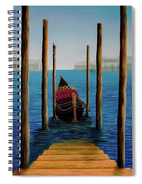 Romantic Solitude Spiral Notebook