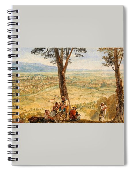 Rome From Monte Mario - Digital Remastered Edition Spiral Notebook