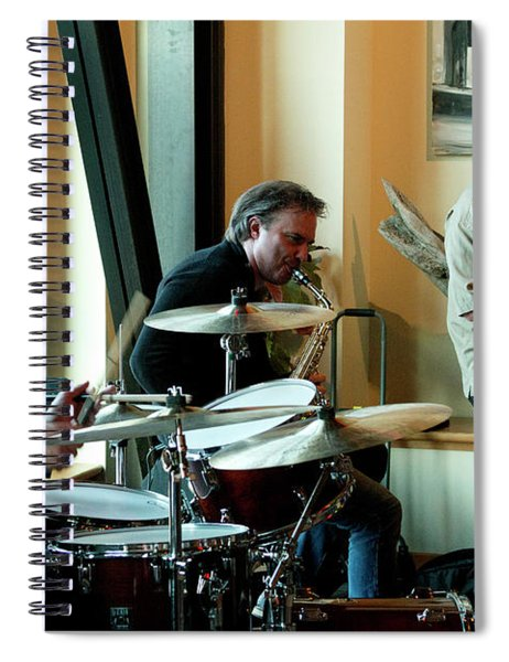Ron Kieper Trio 5 Spiral Notebook