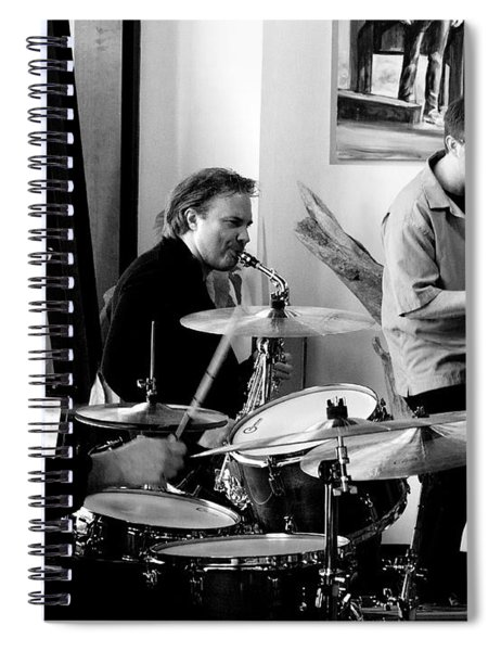 Ron Kieper Trio Spiral Notebook