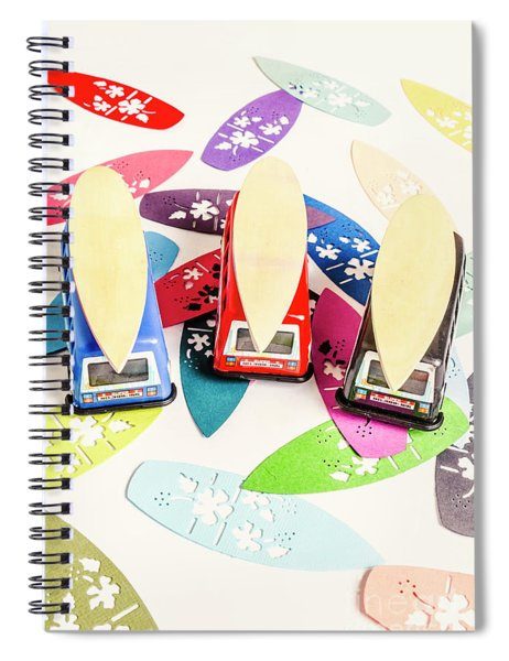 Roof Rack Riders Spiral Notebook