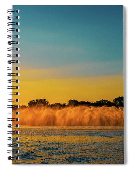Roostertail Spiral Notebook