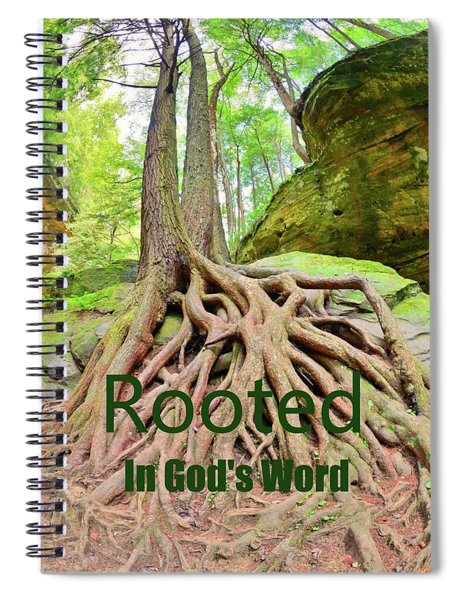 Rooted In God's Word Spiral Notebook