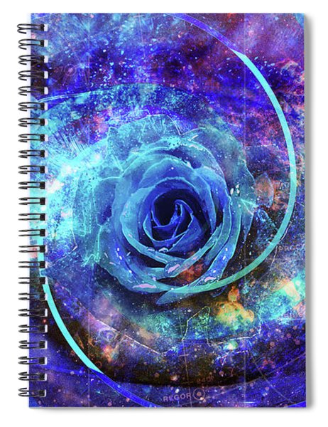 Rosa Azul Spiral Notebook