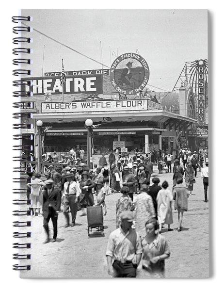 Rosemary Theater Santa Monica Spiral Notebook