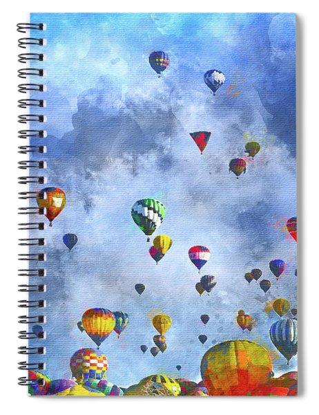 Rough Air Spiral Notebook