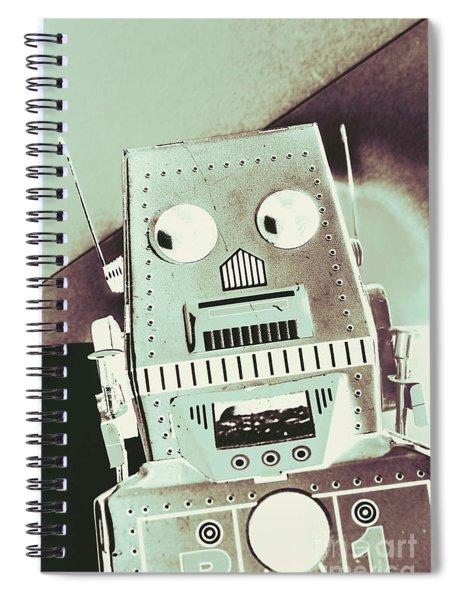 Rover 001 Spiral Notebook