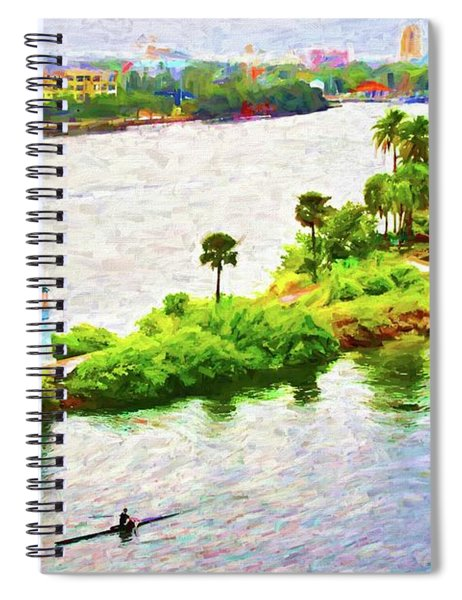 Row To The Tip Spiral Notebook
