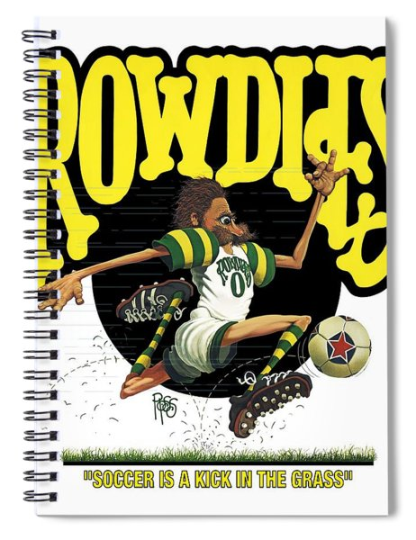 Rowdies Old School Spiral Notebook