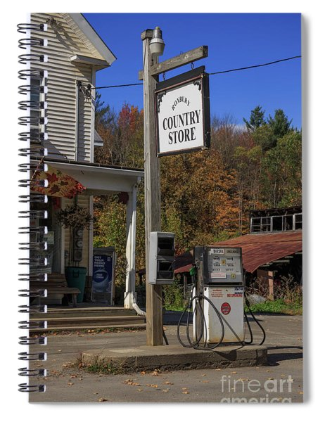 Roxbury Country Store Roxbury Vermont Spiral Notebook