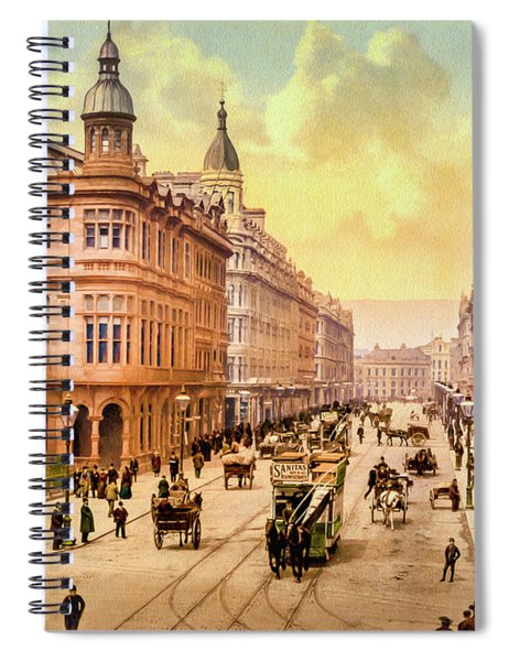 Royal Avenue In Belfast Spiral Notebook