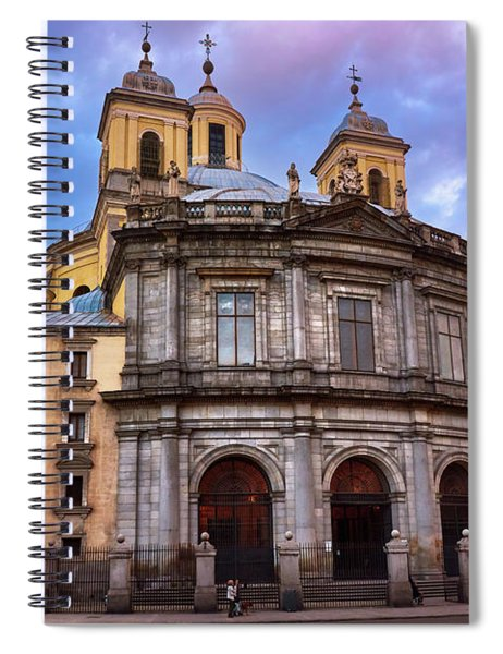 Royal Basilica Of San Francisco El Grande Spiral Notebook