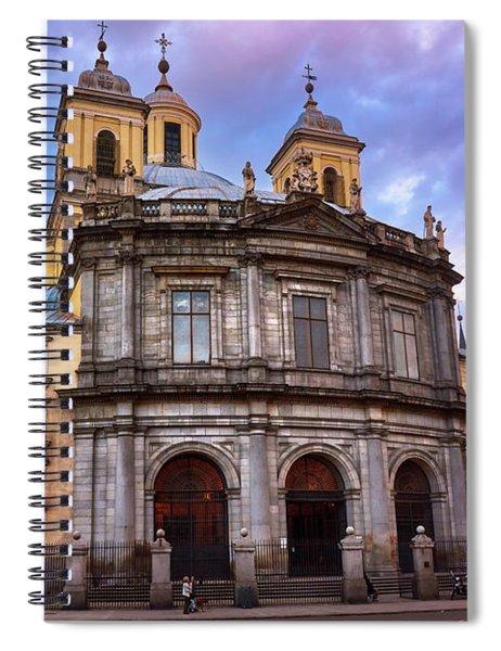 Royal Basilica Of San Francisco El Grande Spiral Notebook