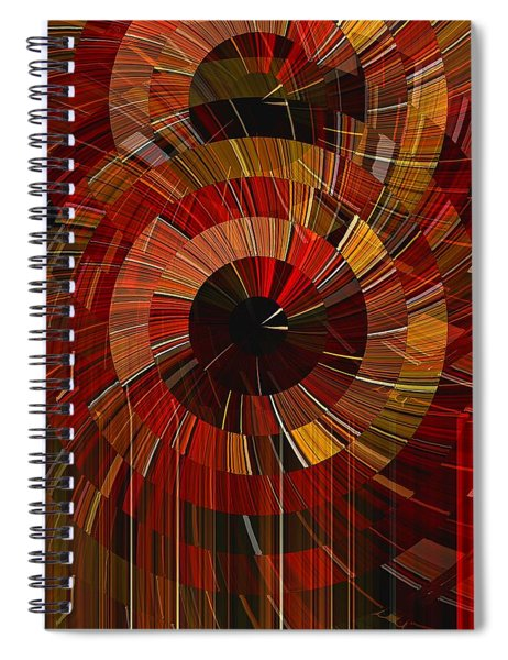 Royal Fireworks Spiral Notebook