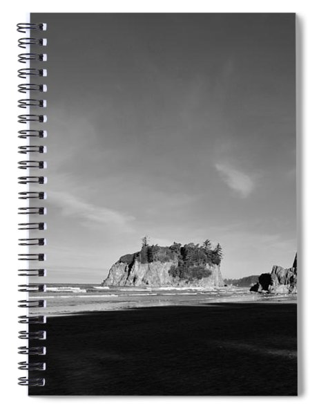 Ruby Skyline Spiral Notebook