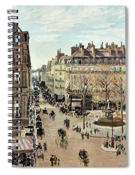 Rue Saint-honore - Digital Remastered Edition Spiral Notebook