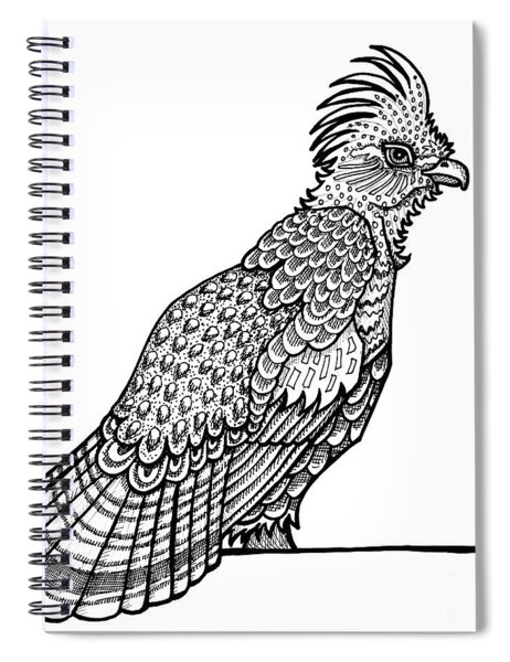 Ruffed Grouse Spiral Notebook