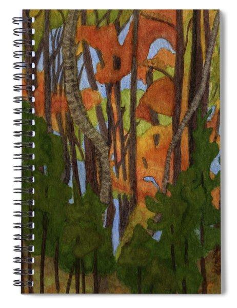 Ruffled Grouse Spiral Notebook
