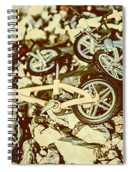 Rugged Biking Spiral Notebook