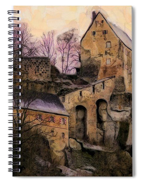 Ruined Castle Spiral Notebook