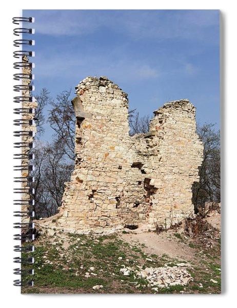 Ruins Of The Pravda Castle Spiral Notebook
