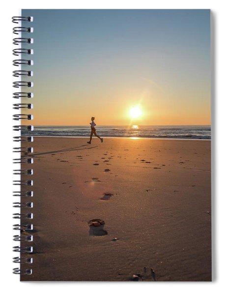 Run Free Spiral Notebook
