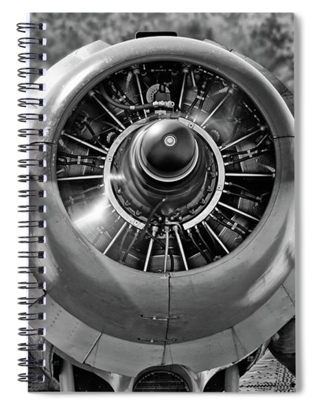 Running Twin Wasp Spiral Notebook