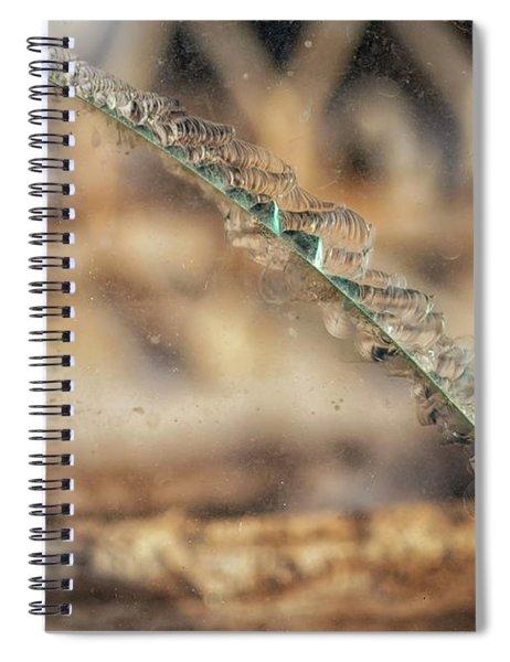 Ruptured Spiral Notebook