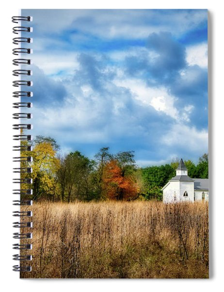 Rural Church Spiral Notebook