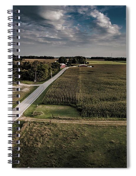 Rural Evening Spiral Notebook