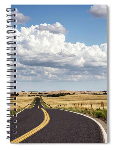 Rural Highway Spiral Notebook