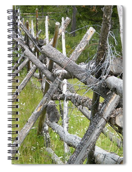 Russel Fence Spiral Notebook