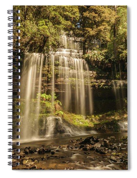 Russell Falls 01 Spiral Notebook