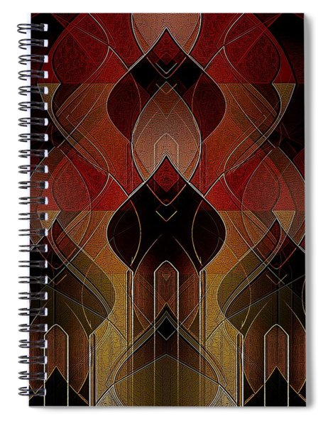 Russian Royalty Spiral Notebook