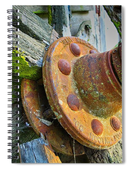 Rusted Hub Spiral Notebook