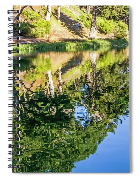 Rustic Reflections Spiral Notebook