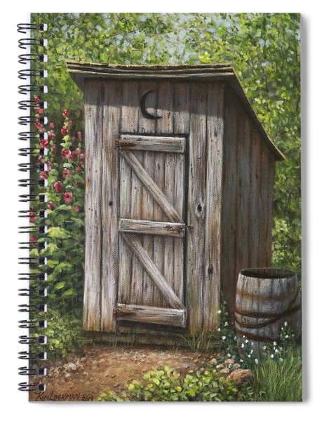 Rustic Rest Stop Spiral Notebook