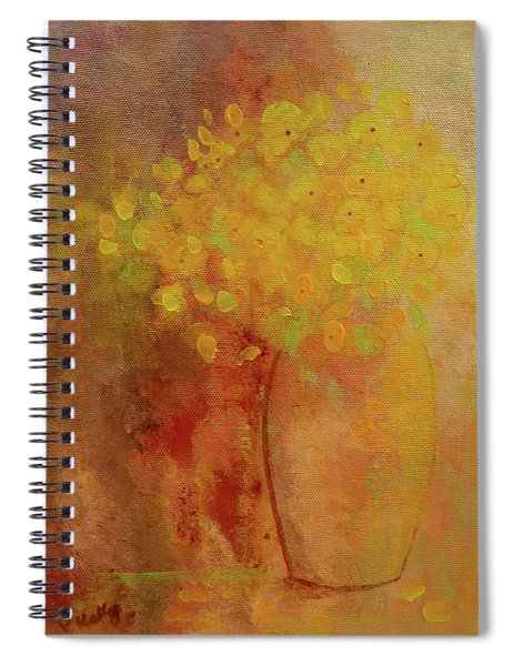 Rustic Still Life Spiral Notebook by Valerie Anne Kelly