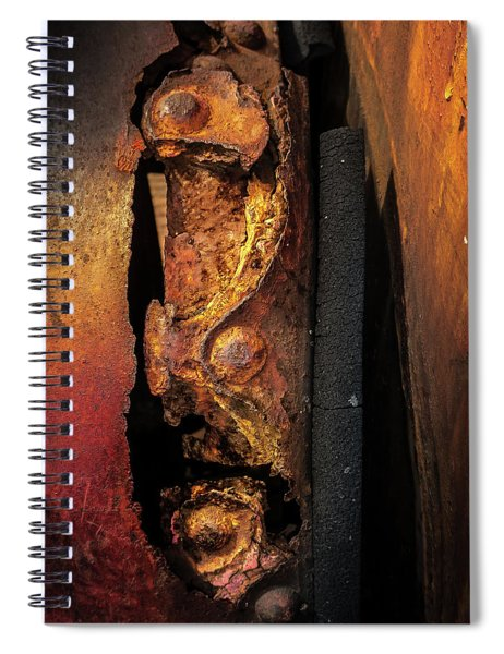 Rusty Colours Spiral Notebook