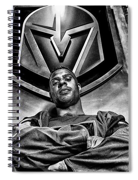 Ryan Reaves Vegas Golden Knights Spiral Notebook