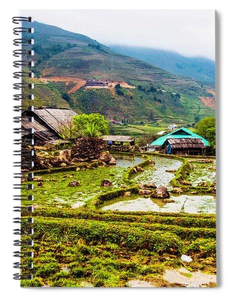 Sa Pa, Vietnam Landscape Spiral Notebook