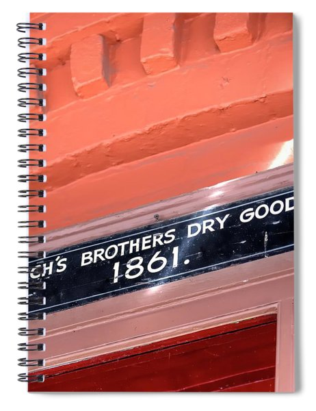 Sach Brothers Spiral Notebook