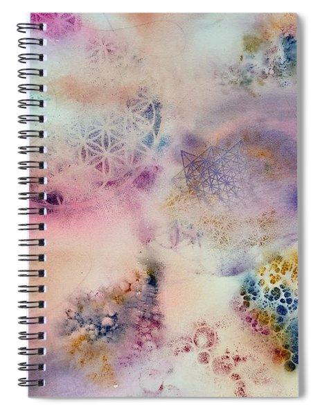 Sacred Flow Spiral Notebook