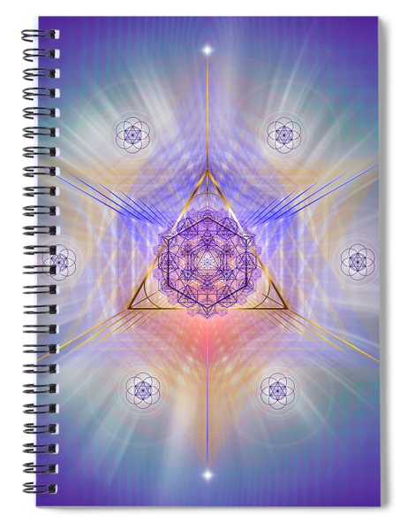 Sacred Geometry 734 Spiral Notebook