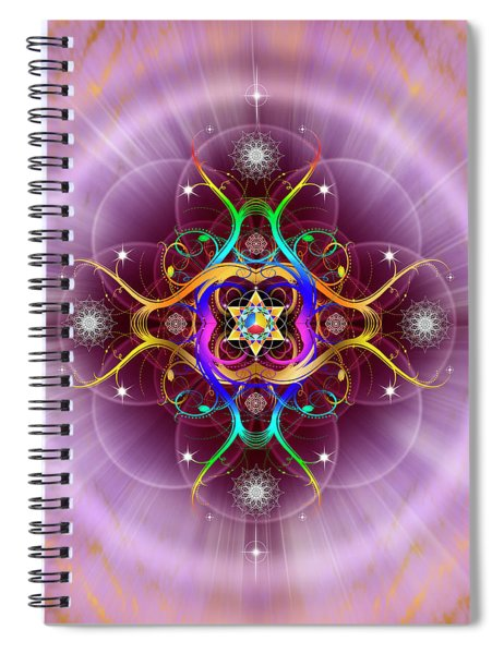 Sacred Geometry 757 Spiral Notebook