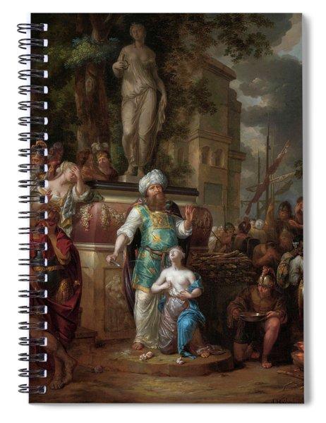 Sacrifice Of Iphigenia, 1700 Spiral Notebook